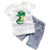 Dinosaur Summer 2pc set - The Pickle and Potato