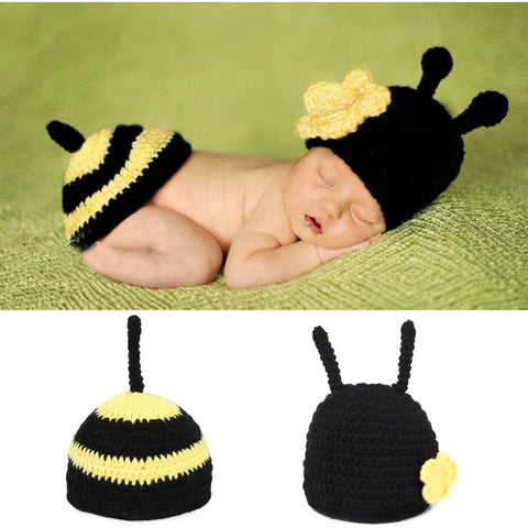 Newborn Photography Prop - Bumble Bee