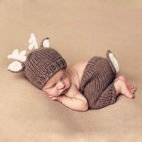Newborn photography prop the deer the pickle and potato