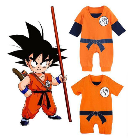 Halloween - Fall Dragon Ball Baby Romper
