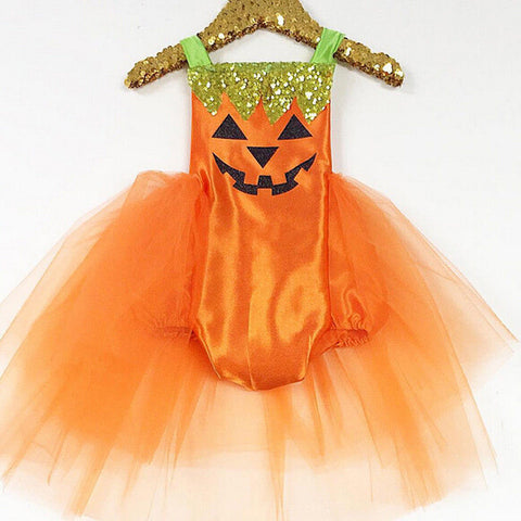 Halloween Baby Princess Dress