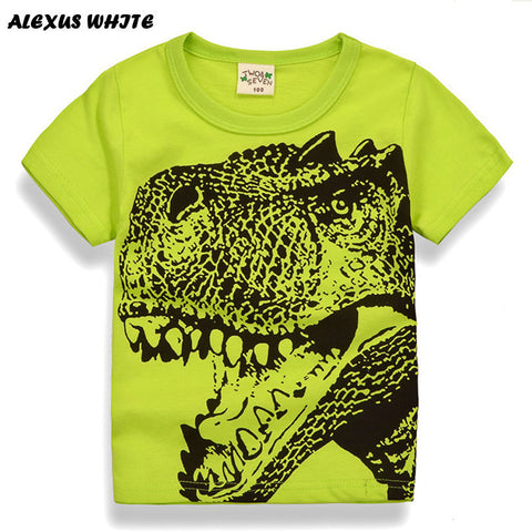 Cartoon Dinosaur TShirt - The Pickle and Potato