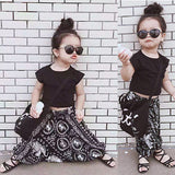 Baby Girl Top and Harem Pants 2pc set