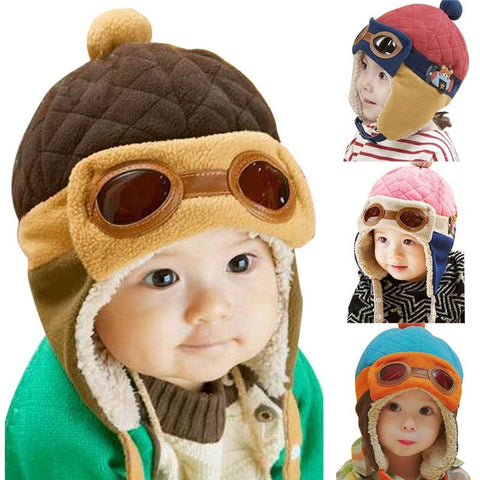 Ace Pilot Baby Hat - The Pickle and Potato