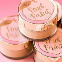 Too Faced Peach Perfect Mattifying Setting Powder Mini - Translucent peach, 3.5g