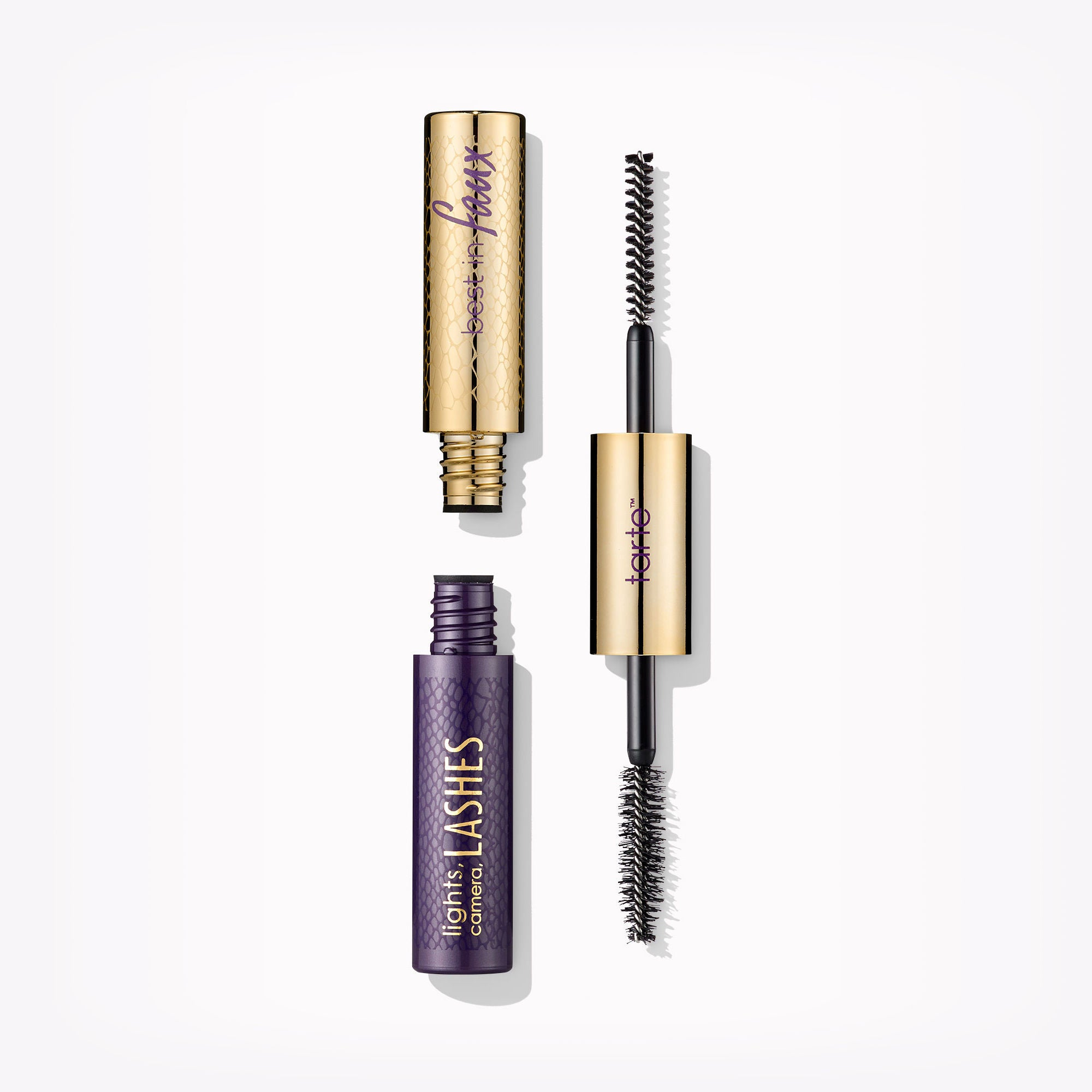 Tarte Tarteist Lights, Camera, Lashes Double-Ended Lash Fibres & 4-in-1 Mascara