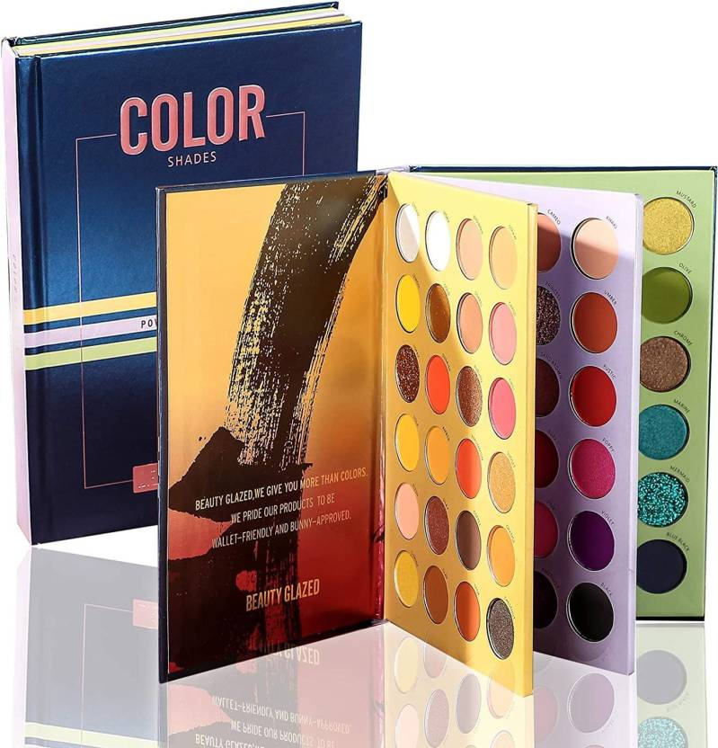 Beauty Glazed Color Book Eyeshadow Palette