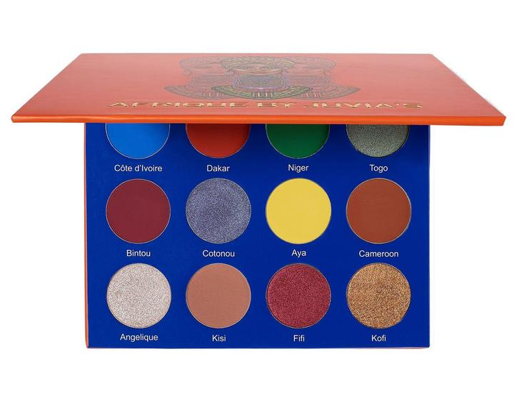 Juvia's Eyeshadow Palette - The Afrique