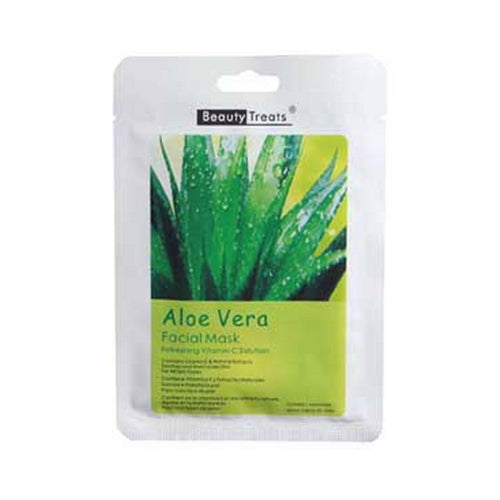 BEAUTY TREATS Facial Mask Refreshing Vitamin C Solution - Aloe Vera