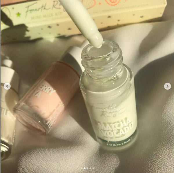 FOURTH RAY BEAUTY Face Milk Mini - Matcha Avocado, 14ml (Unboxed)