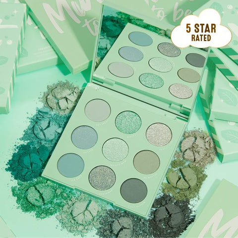 Colourpop Eyeshadow Palette - Mint to Be (Unboxed)
