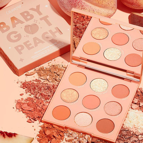 Colourpop Baby Got Peach Eyeshadow Palette (Unboxed)