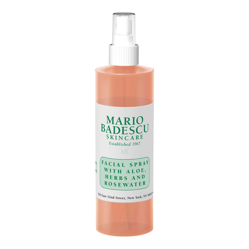 Mario Badescu Facial Spray with Aloe,Herbs and Rosewater, 8oz/236ml