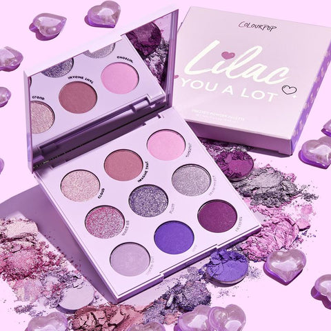Colourpop Lilac You A Lot Eyeshadow Palette (Unboxed)
