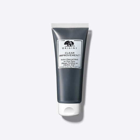 ORIGINS Clear Improvement® Active Charcoal Mask to Clear Pores Mini, 15ml (From Origins Best-Sellers Skin Set)