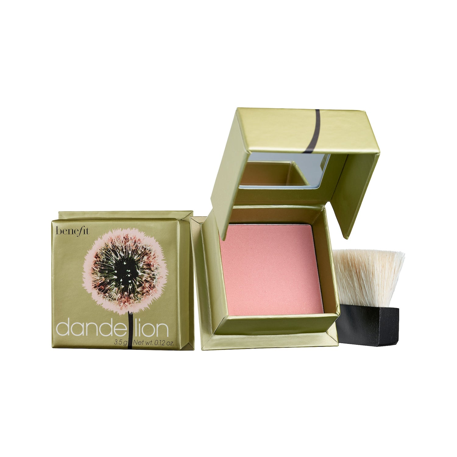 Benefit Cosmetics Dandelion Box o' Powder Blush Mini,3.5g (Unboxed)