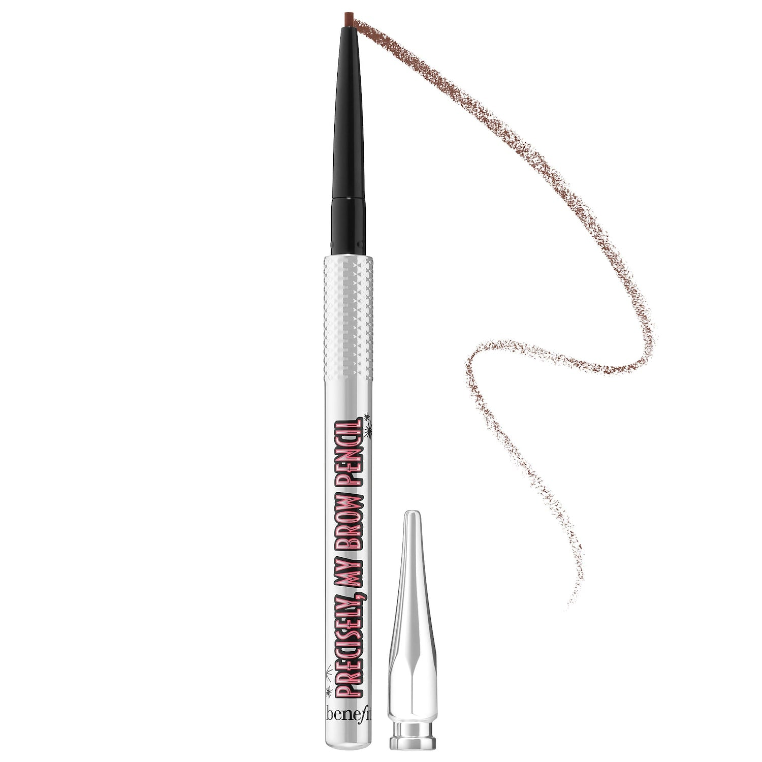 Benefit Cosmetics Precisely, My Brow Pencil Ultra Fine Shape & Define Mini - Shade 3 (Warm light brown) (Unboxed)
