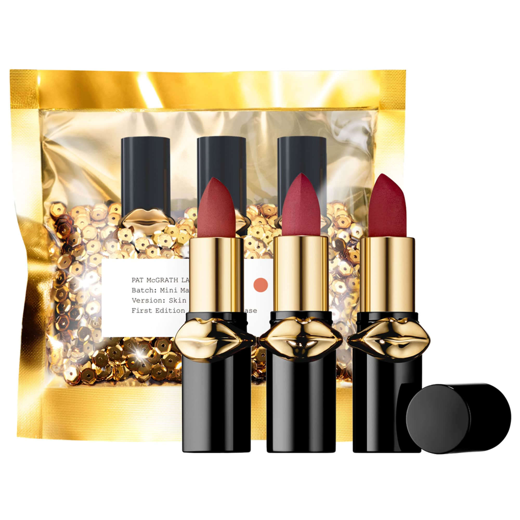 PAT MCGRATH LABS LUST: Mini MatteTrance™ Lipstick Trio - Skin Show Trio Set
