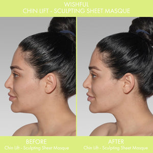 WISHFUL Chin Lift – Sculpting Sheet Mask