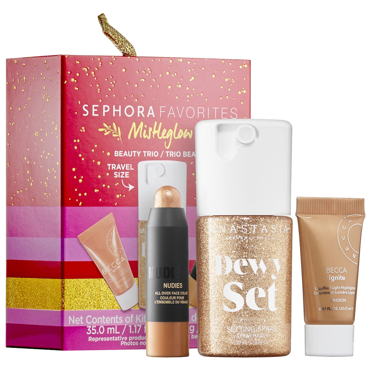 Sephora Favorites Mini Mistleglow Highlight Set