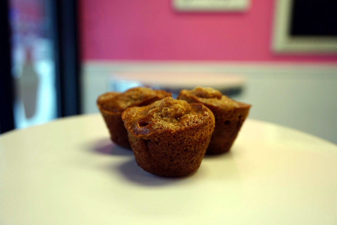 Banana Nut Mini Muffins