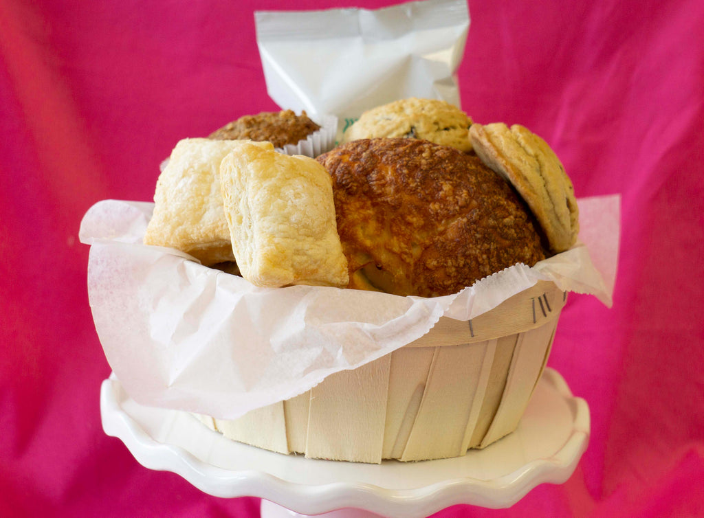 Mini Muffins, Bagels and More Basket