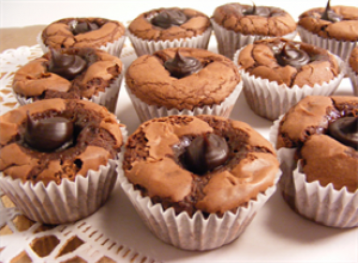 Filled Brownie Bites
