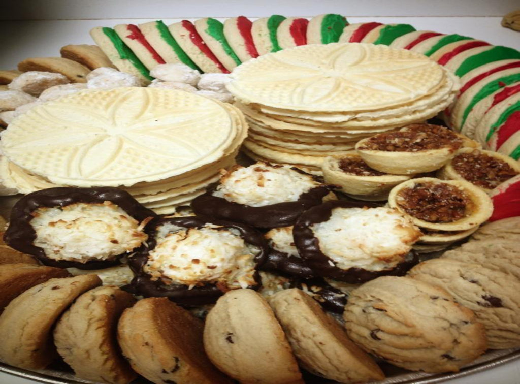 Holiday Party Tray for 40