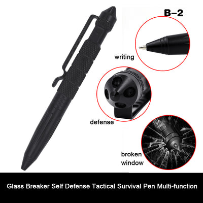 Tactical pencil Glass Breaker Survival Pen Multi-function