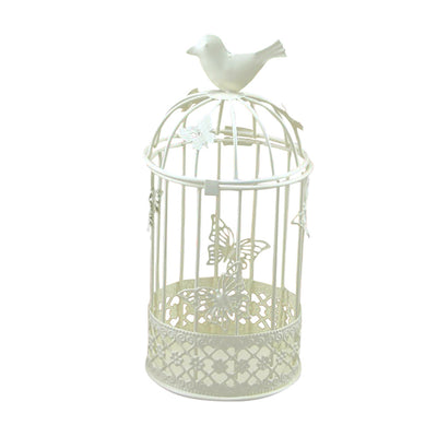 Cute Bird Candlestick Metal Hollow Holder