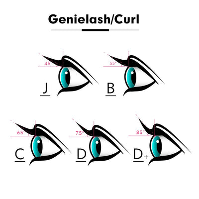 GENIE individual volume eyelashes extension