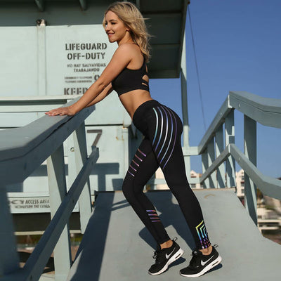 Luma™ - Rainbow Reflective Leggings