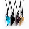 Crystal Wolf Tooth Necklace