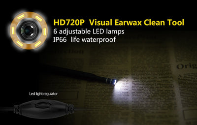3-in-1  Ear Cleaning Visual Endoscope