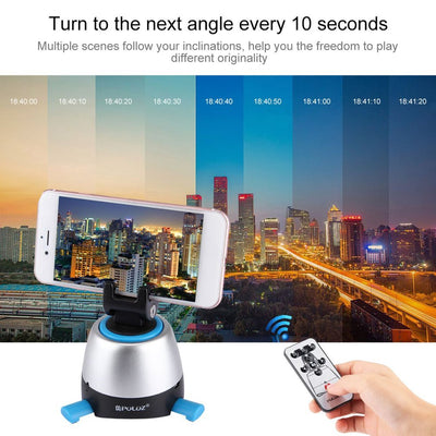Electronic 360 degree Rotation Panoramic Tripod