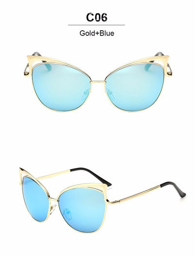 Fashion Cateye Sunglasses