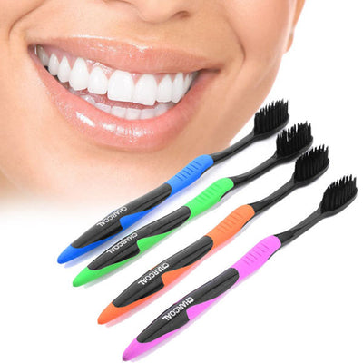 Professional Bamboo Charcoal Toothbrush (4-1)