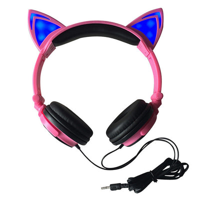 Cat Led Gaming & Music Headphones