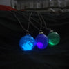 Glow In The Dark Dandelion Necklace