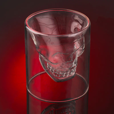 Skull Whisky Glass