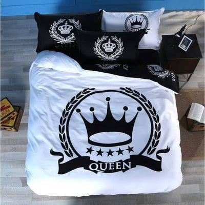 King & Queen Bedding set