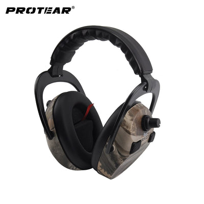 Tactical Headset. Electronic Ear Protection 4. Microphones Ver.