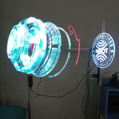 Professional LED 3D Holographic Projector Portable Hologram Player