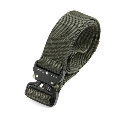 Adjustable Thickened High-Quality Solid Cool Tactical Belt - Unisex