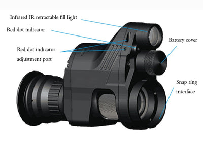 PARD 200m  Infrared Hunting Digital Night Vision