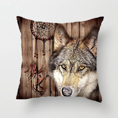 Wolf Dream Pillow & Cushions