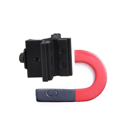 Dual Magnetic Flashlight Rifle Scope Mount Holder
