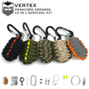 Vertex 13 In 1 Grenade Survival Kit