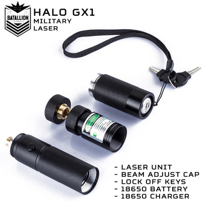 Halo GX1 Military Laser