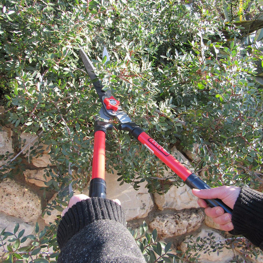Tabor Tools Professional Hedge Shears With Wavy Blade